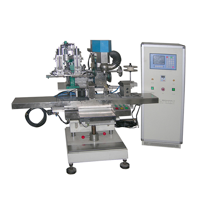 2 Axis Drilling and Filling Machine for Flat Brush