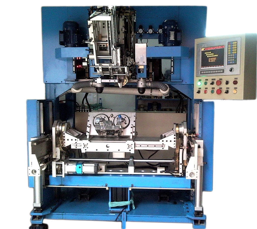 5 Axis Brush Drilling and Filling Machine