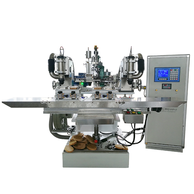 3 Axis 3 Head Machine for Copper Wire Brush