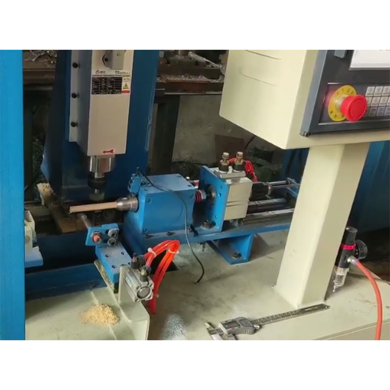 Wooden handle shaping machine